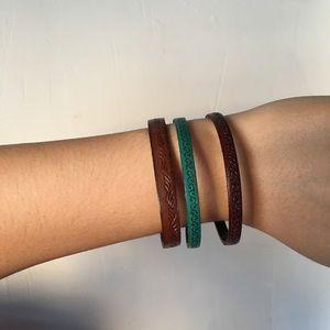 Tribal Print Bracelet Set
